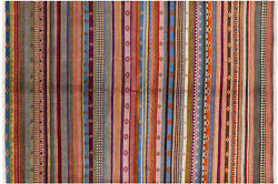 6and039 1 X 8and039 9 Gabbeh Hand Knotted Rug - P7428