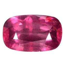 2.33 Ct. Top Luster Richest Cushion Pinkish Red Ruby Aaa Gem With Glc Certify