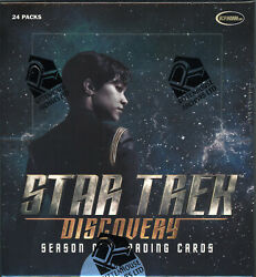 2019 Star Trek Discovery Season One Factory Sealed 12 box case + P1 Promo