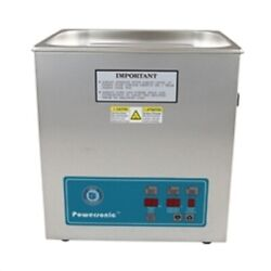 New Crest Powersonic P1100d 45khz Ultrasonic Cleaner Power Control With Basket