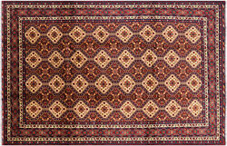 8and039 6 X 13and039 0 Tribal Hand Knotted Wool Rug - P8741