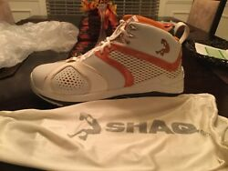 Official Phoenix Suns Game Shoe And Autographed By Hall Of Famer Shaquille Oandrsquoneal