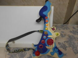 Just B By Byou Blue Dog Toddler Guitar Toy