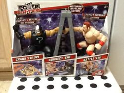 Wwe Power Slammers Dynamite Driving Rey Mysterio And Thunder Twisting Sheamus 2012