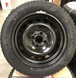 Winter Tyre And Wheel Sets Renault Twingo Iii Ah Continental Factory New