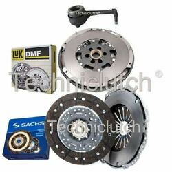 Sachs 2 Part Clutch Kit And Luk Dmf And Csc For Audi Tt Coupe 1.8 T Quattro