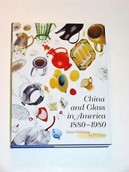 New Huge China And Glass In America 1880-1980 From Tabletop To Tv Tray Book