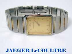 Unisex 18k And S/steel Jaeger Lecoultre Watch 146 116 5 Exlnt