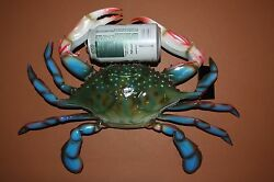 1 Giant 16 Blue Crab Replica Ultra-realistic 3d Detailed Blue Crab Display