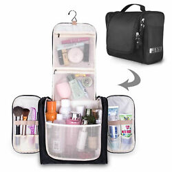 Waterproof Hanging Toiletry Bag Travel Cosmetic Kit Large Organizer Case $12.34