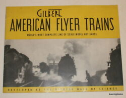 A C Gilbert Co / Gilbert American Flyer Trains World's Most Complete Line 1st Ed