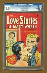 Love Stories of Mary Worth #3 1950 CGC 9.0 7810930014