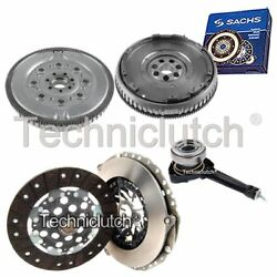 2 Part Clutch Kit And Sachs Dmf With Csc For Renault Laguna Hatchback 1.9 Dci