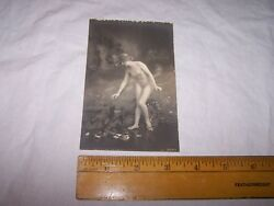 Very Old Antique Nude Postcard - Risque - Lot D