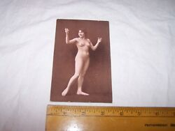 Very Old Antique Nude Postcard - Risque - Lot C