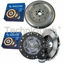 Sachs 3 Part Clutch Kit And Sachs Dmf For Audi A6 Berlina 1.9 Tdi