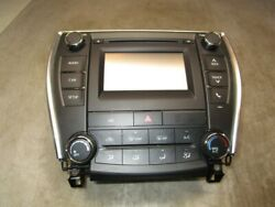 2016-2017 Toyota Camry Radio CD Plater w/ Display Screen and Climate Control OEM