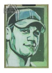John Cena 2019 Topps Wwe Transcendent Collection Auto Sketch Card 1/1