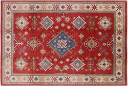 8and039 1 X 11and039 9 Hand-knotted Kazak Wool Area Rug - H7411