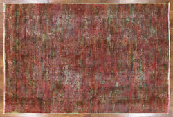 Hand Knotted Overdyed Wool Rug 6and039 2 X 9and039 1 - W893