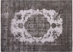 Hand Knotted Overdyed Wool Rug 8' 0 X 10' 6- W881