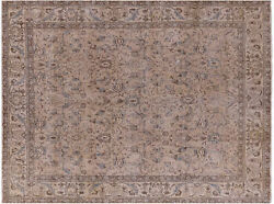 Overdyed Hand Knotted Area Rug 9' 6 X 12' 3 - P3865