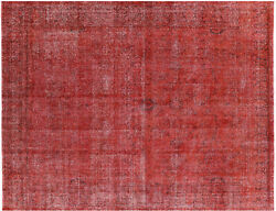 Hand Knotted Overdyed Rug 9' 6 X 12' 3 - P3900