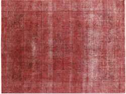 8' 2 X 11' 1 Hand Knotted Overdyed Area Rug - P3847