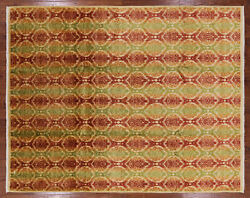 8and039 2 X 10and039 5 Ikat Hand Knotted Wool Rug - P5074
