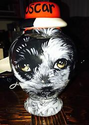 Custom Poodle Terrier Pet URN DOG cremation ANY BREED medium dog urn animal urns