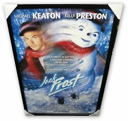Michael Keaton Hand Signed Autographed Movie Poster Custom Framed Jack Frost Ga