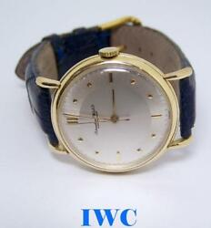 Vintage 18k Yellow Gold Shaffhausen Winding Watch C.1949 Cal 60 Serviced