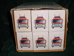 Easter Vacation Collectable Trucks 1986 Hess Red Fire Truck Toy Bank From Case