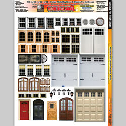 Real Doors And Windows Model Train Layouts O Scale - Ho Scale Scenery