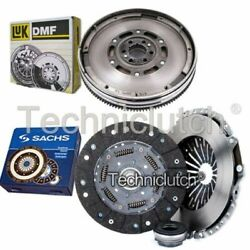 Sachs 3 Part Clutch Kit And Luk Dmf For Audi A6 Estate 1.9 Tdi