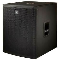 """Electro-voice Elx118p Live-x 700w Active/powered 18"""" Dj Subwoofer Used"""