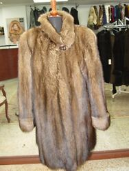 BRAND NEW FISHER FUR COAT JACKET FOR WOMEN WOMAN SIZE ALL
