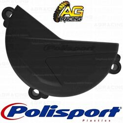 Polisport Black Clutch Cover Protector For Sherco SEF 250 300 2014-2019