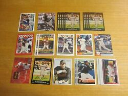 Bengie Molina Lot Of 25 Trading Cards W/1 Insert And 1 And039d Mlb Giants Angels