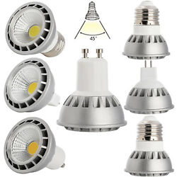 Ultra Bright Dimmable E27 E26 GU10 MR16 15W LED COB Spotlight Bulbs CREE Lamp ST