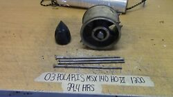 03 Polaris Msx 140 Ho Di 29.4 Hrs Jet Pump Stator W/ Cone And Bolts 5132088