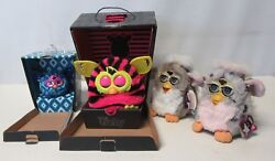 Furby Lot Models Boom And Furblings And 70-800 Original Vintage Current All Work