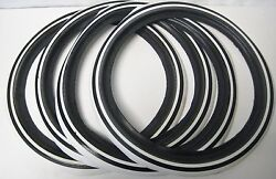 Hot Rod Whitewalls 4 Port-a-wall Topper 500 Bearfoot Sole Co 15 Real Rubber Usa