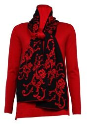 Cable & Gauge Women's Solid Long Sleeves Sweater wScarf $26.95