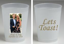 16 oz Frost flex personalized cups full color wedding cups housewarming favors