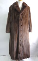 BRAND NEW NATURAL SABLE FUR LONG COAT JACKET ARABIC ROBE MEN MAN SIZE ALL