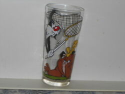 Vtg. 1973 Warner Brothers / Looney Tunes Sylvester, Tweety And Marc Anthony Glass