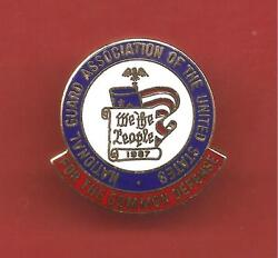 Pinand039s Pin National Guard Association United State Common Defense 1987 Ref Cl06