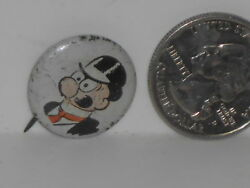 Vtg. Promo 1946 Pep Cereal King Features Syndicate Barney Google Comic Button