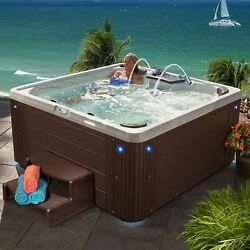 Hot Tub Fits 4 - 5 People ASPIRE 40-Jet Acrylic Spa Full body lounger - Expresso